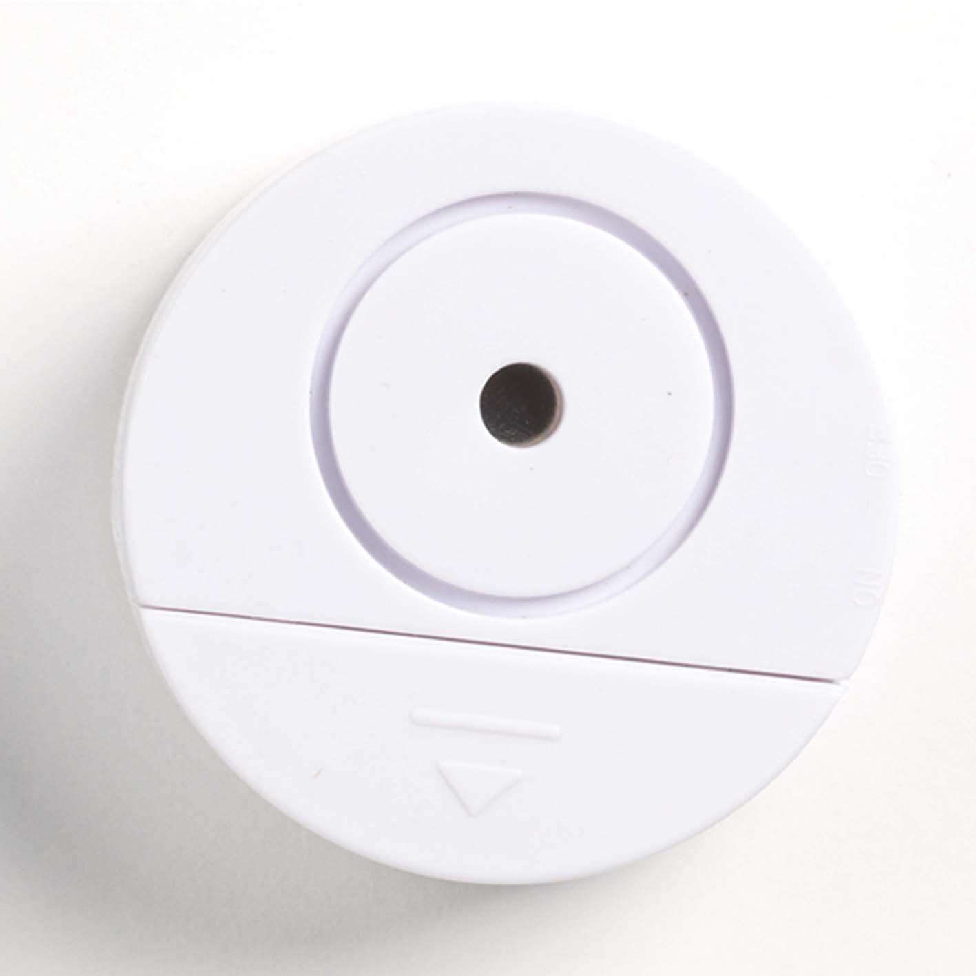 easymaxx 00310 Security Alarma Cristal Rotura, Juego de 2, Sensor de sacudidas, para Puertas y Ventanas, Muy Subir Alarma, Inalámbrico, fácil instalación: ...