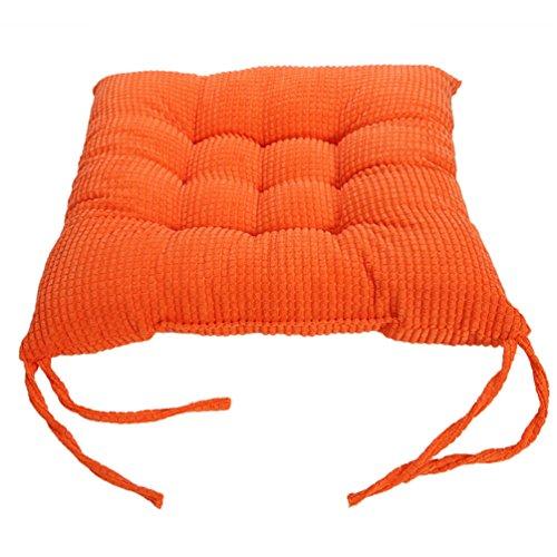 Haotfire Soft Home Office Square Cotton Polka Seat Cushion Buttocks Chair Cushion Pads