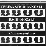 Teresa Stich-Randall sings Bach Solo Secular Cantatas & Mozart Exsultate Jubilate (Import CD, RARE)