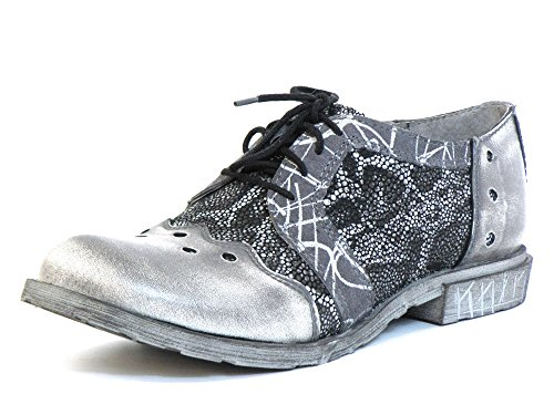 grey kombi kombi grau grau Shoes GRAU 9820 Women Lace Up qvwPPB