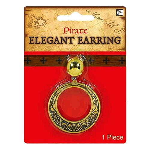Pirate Earrings For Men (Amscan Elegant Pirate Earring)