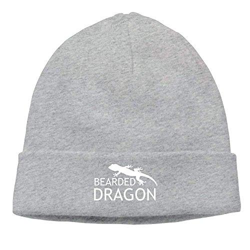 Dragon Ash Bearded Cap Lizard Beanie Knit Fierce Women Adults Skull Hat Beanie Men 75OqxwRCR