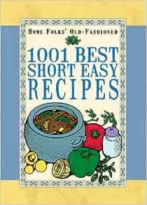 1001 short easy recipes