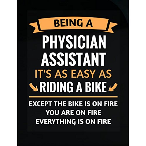 Assistant Sticker - Funny Physician Assistant Design Gift - Sticker