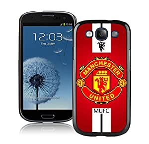 Fashionable Custom Designed Skin Case For Samsung Galaxy S3 I9300 With Manchester United Black Phone Case 1