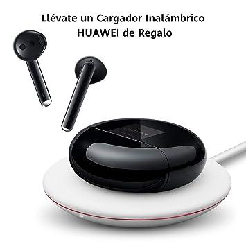 HUAWEI FreeBuds 3 - Auriculares Inalámbricos con Cancelación de Ruido Activa (Conexión Bluetooth Ultrarápida, Altavoz de 14 mm, Carga Inalámbrica) ...