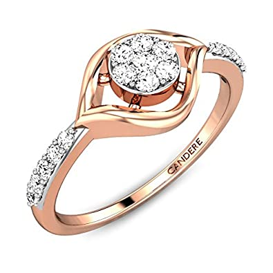 Buy Candere By Kalyan Jewellers Gold and Diamond Ring for Women