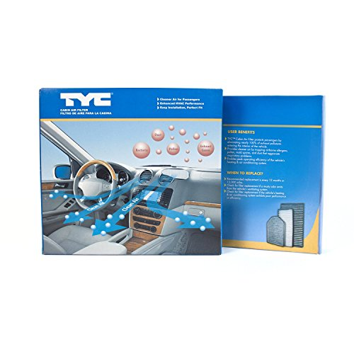 TYC 800157P Hyundai Sonata Replacement Cabin Air Filter