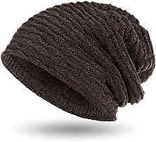 Compagno Wintermütze warm gefütterte Mütze sportlich-elegantes Wabenmuster mit weichem Fleece-Futter Beanie meliert