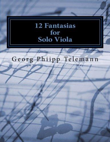 12 Fantasias for Solo Viola ebook