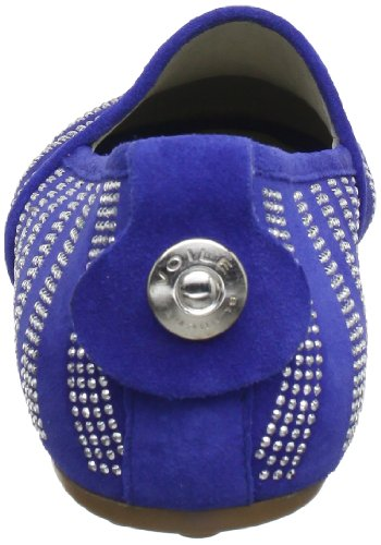 Azzurro Bleu Blanche femme 2006943019107 Voile 9107 Ballerines wXZBzFZqx