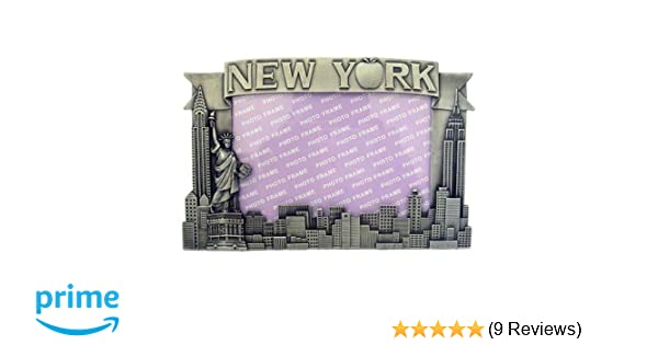 Amazon.com - New York Pewter Picture Frame - Apple, New York Picture ...