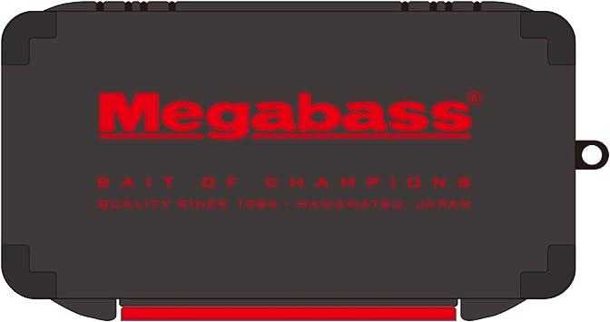 Black//Red Megabass Lunker Lunch Box Slim