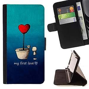 Kingstore / - Una maceta Teniendo Mi Primer Amor - Apple Iphone 6 PLUS 5.5