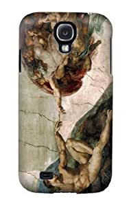 S0179 Michelangelo The creation of Adam Case Cover for Samsung Galaxy S4 hjbrhga1544
