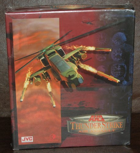 Price comparison product image AH-3 Thunder Strike; Air Assault JVC DOS CD-ROM