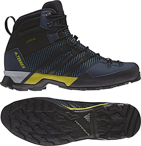 Price comparison product image adidas Men Terrex Scope High GTX Hiking Shoes Blue/Black/Navy 9