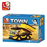 Sluban Heavy Engineering Truck Building Block Toys For Kids Multi Color LEGO Compatible Educational Gift Toys M38-B09500