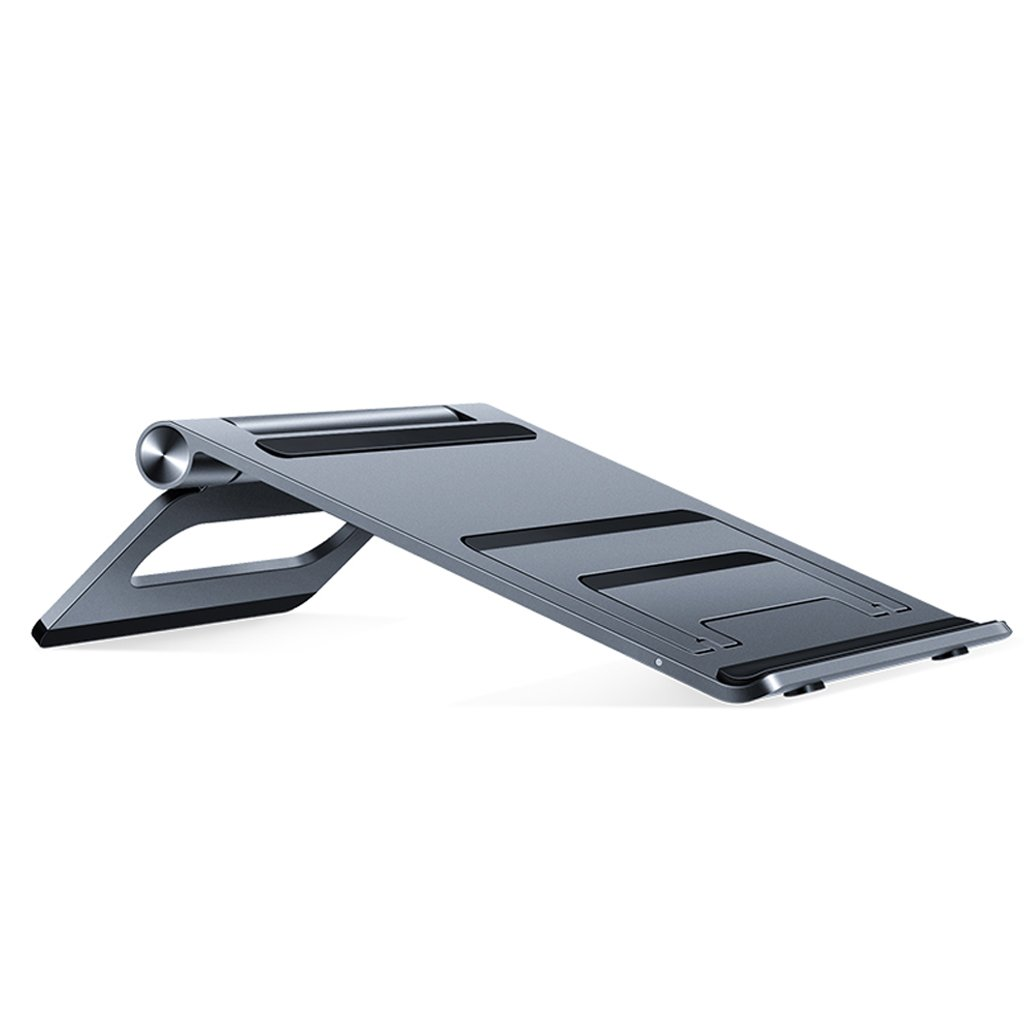 XY Soap dish Laptop Stand, Apple Mac Book Tray, Desktop Folding Aluminum Alloy Heat Sink, Aluminum Alloy Work Computer Desk, 72.6mm205.6mm195mm