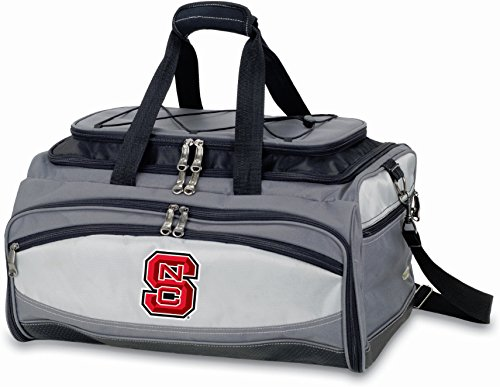 - North Carolina State Embroidered Buccaneer Cooler Grey/Black