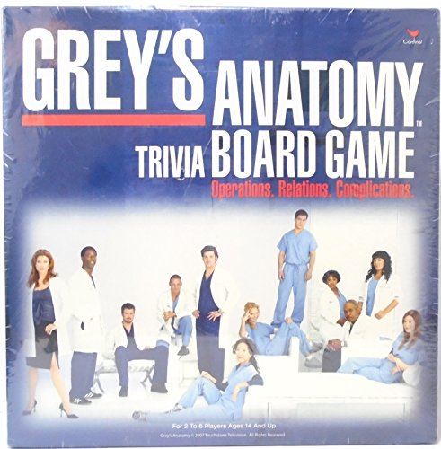 Cardinal Industries Grey's Anatomy Game - Anatomy Game