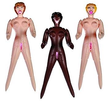Amazon.com: Travesuras de recámara. Color negro Mini muñeca ...
