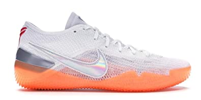 check out 630d0 fd77f NIKE Men s Kobe AD NXT 360, White Multi-Color-Infrared 23-