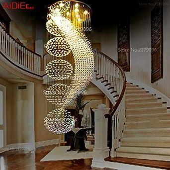 Art Deco Restaurant Leuchten Kronleuchter Aus Kristall Ball Treppe