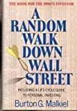 img - for A Random Walk Down Wall Street: Including a Life-Cycle Guide to Personal Investing by Burton Gordon Malkiel (1990-05-03) book / textbook / text book