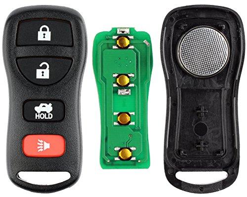 KeylessOption Keyless Entry Remote Control Car Key Fob Replacement for KBRASTU15 (Pack of 2) by KeylessOption (Image #2)