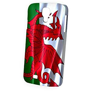 Case Fun Samsung Galaxy S4 (I9500) Case - Vogue Version - 3D Full Wrap - Flag of Wales