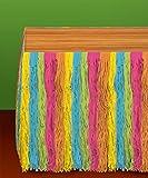 Amscan Neon Fringe Party Table Skirt