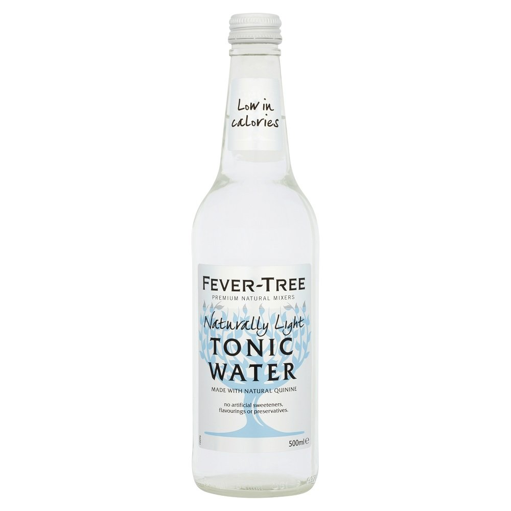 Fever Tree Light Tonic 8/500ml, 8 Count by Fever-Tree