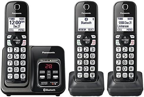 Panasonic kx-tgd563 m link2cell Bluetooth teléfono inalámbrico con asistencia de voz y contestador automático – 3 teléfonos inalámbricos (Certificado Reformado): Amazon.es: Electrónica
