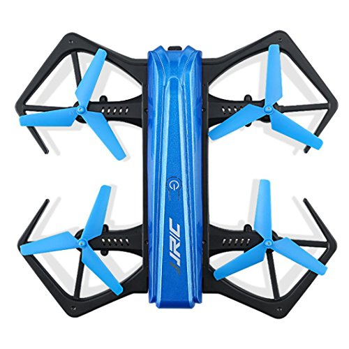 Noise Radio Aircraft (Gbell 720P HD Camera Drone- JJRC H43WH Blue WIFI Foldable with Altitude Hold RC Quadcopter,Kids Adults Birthday Christmas New Year Gifts,Blue (Blue))