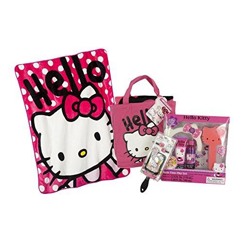 Hello Kitty Bath Spa 10 Piece Bundle Set - Hello Kitty Bath Set