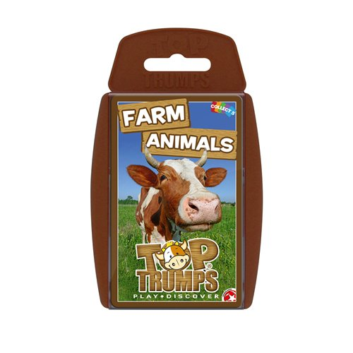 - Top Trumps Farm Animals Card Game