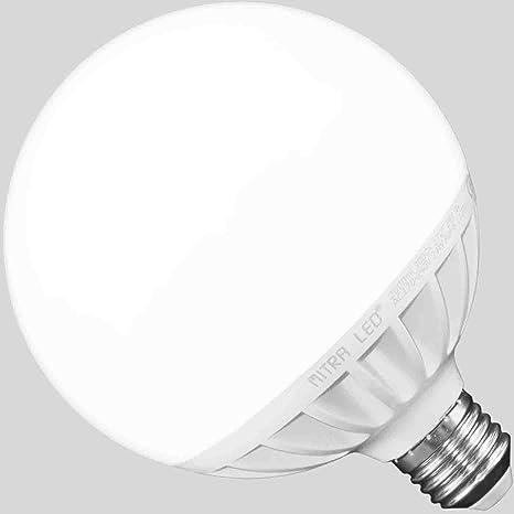 MITRA LED Bombilla LED E27 2000 lúmenes 24 W=aprox. 150 W forma de