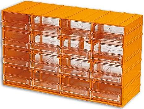 MAURER 052165 cajonera, plástico, 16 plazas: Amazon.es ...