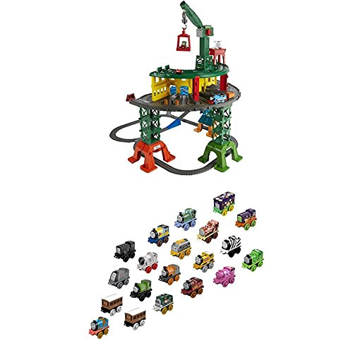 Fisher-Price Thomas & Friends Super Station with Thomas & Friends MINIS, 20-Pack -
