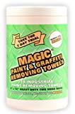 Zenex Magic Paint and Graffiti Wipes - 70 Towels Per Canister - 1 Case (6 Canisters)