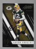Aaron Rodgers Green Bay Packers Autographed Signed 2016 Panini card - COA - NM/MT - MT Condition!