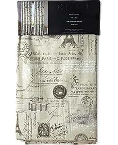 Amazon Com Paris French Vintage Faux Linen Pair Of