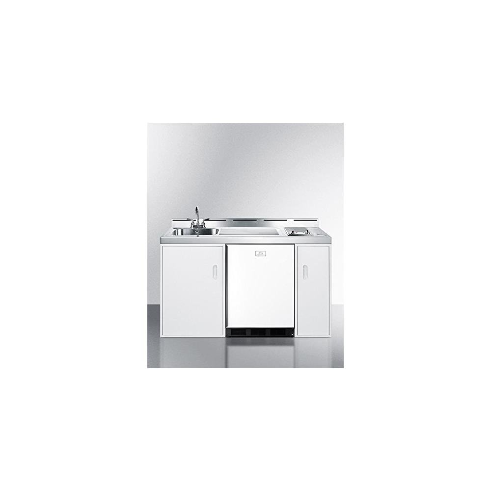 Amazon.com: Summit C60ELGLASS Kitchen All in One Combination Unit ...