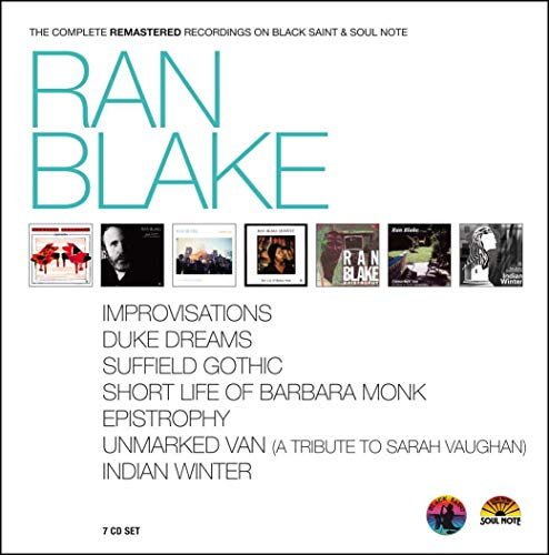 Ran Blake - Complete Recordings on Black Saint & Soul Note (Best Modern Jazz Guitarists)