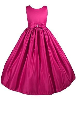 dd33d73f0f9 AMJ Dresses Inc Little-Girls' Fuchsia Flower Girl Dress A7771 Size 2