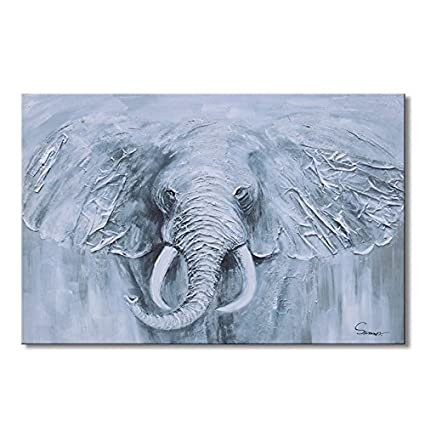 Amazon Com Sumeru Animal Canvas Paintings Wall Art Pictures