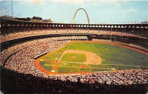 Busch Memorial Stadium St Louis, Missouri, MO, USA Old Vintage Postcard Post Card