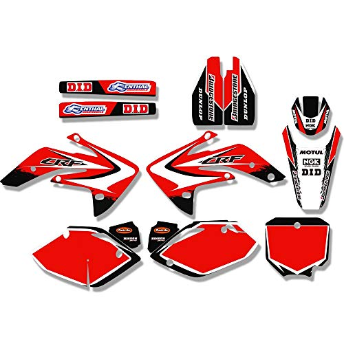 ABRAMOV DMITRY - TEAM GRAPHICS & BACKGROUNDS DECAL STICKER For Honda CRF150R LIQUID COOLED CRF150RL CRF150RB 2007-2018 ()