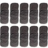 VNHOME: Sunny ju 10 PCS/lot 5 Layers Bamboo Cotton Cloth Diapers Inserts Nappy Changing mat Baby Diapers Reusable Diaper Changing pad